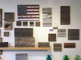 wooden wall art made from old barn wood