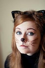simple cat make up i like the headband