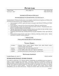 Awesome It Desktop Support Resume Samples Ideas Resume Ideas