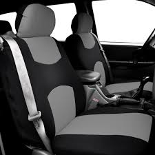 car seat covers for integrated seat belts built in seat belt gray