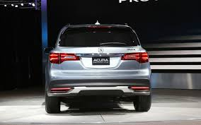 2013 Detroit: 2014 Acura MDX Prototype First Look - Motor Trend
