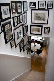 65+ Awesome Arranging Pictures On A Stair Wall Ideas