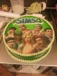 Sims 4 Cake Baking Ideas Cake Birthday Cake Food