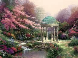 thomas kinkade pools of serenity