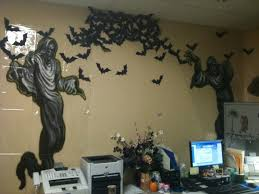 halloween office decoration. halloween office decor bat swarm harvest pinterest decoration o