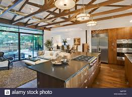 open kitchen living room floor plan pictures. open floor plan of house with kitchen, living room and dining view to backyard kitchen pictures