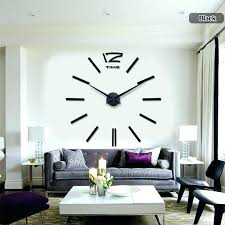 large wall clock decor large wall clock decor clocks for home indoor extra decorative art wall