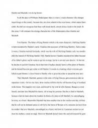 Comparison Essay Hamlet Macbeth Research Paper