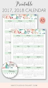 top 25 best calendar 2018 ideas