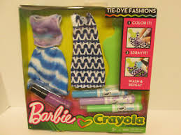 Outfit Creator With Your Own Clothes Details About Barbie Crayola Tie Dye Fashion Style Designer Clothing Coloring Set Dress Outfit