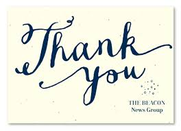 Business Thank You Note Cards Hand Written Business Thank You Cards On Seeded Paper Heartfelt By
