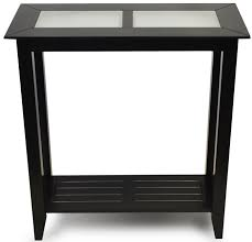 black accent table image
