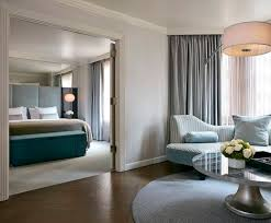 Bed In The London NYC Suite