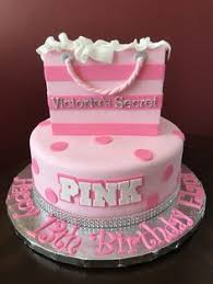 pink cakes for girls 13th birthday. Delighful 13th Victoriau0027s Secret Pink Birthday Cake In Cakes For Girls 13th I