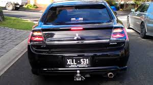 Mitsubishi 380 GT with USDM Galant Ralliart Tail lights - YouTube