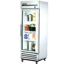 clear door refrigerator glass front ft 1 single fridge
