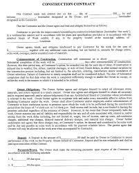 Template Security Services Contract Template Sample Construction