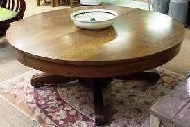 coffee table oak round coffee table vintage round oak coffee table antique round oak
