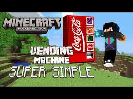 How To Make Vending Machine In Minecraft Pe Best YouTube Gaming