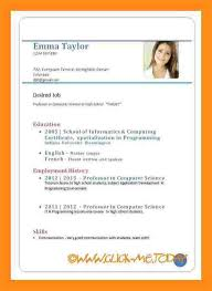 10+ Cv With Job Application | Emmalbell