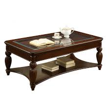 bonafacio dark cherry coffee table