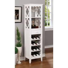 wine bottle storage furniture. Furniture Of America Danellla Contemporary Open Display Shelf/Wine Rack Wine Bottle Storage Furniture