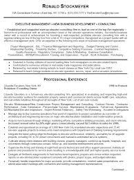 Operations Executive Resume Examples Business Management Resume