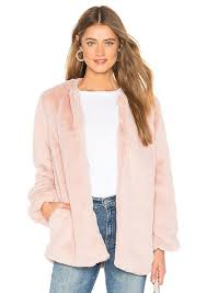 tularosa ricci faux fur jacket