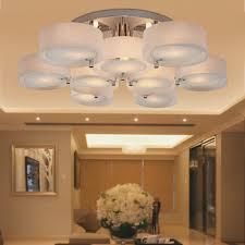 top modern round acrylic chandelier lighting pendant lights home