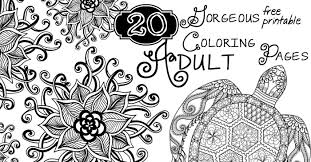 Small Picture 20 Gorgeous Free Printable Adult Coloring Pages Nerdy Mamma