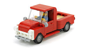 LEGO Pickup Truck MOC Building Instructions - YouTube