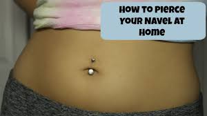 How I Pierced My Belly Buttonnavel At Home Alyssa Nicole