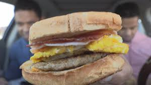 jack in the box loaded breakfast sandwich