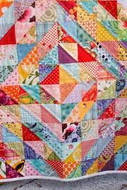 Indie by Pat Bravo | Lobbies, Patterns and Easy & Half Square Triangle Quilt - love it! Some way to make concentric squares? Adamdwight.com