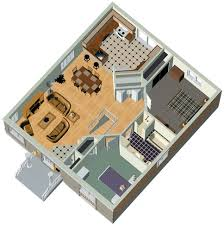 TWO BEDROOMS m HOUSE PLAN   D HOME PLANS INCLUDED   HOME PLANS    Free plans for two bedroom house plus D model plan