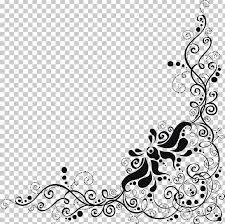 Black And White Invitation Paper Wedding Invitation Paper Silver Lace Png Clipart
