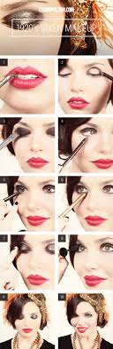 flapper makeup how to for flapper makeup tutorial