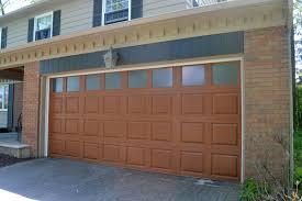 overhead glass garage door. C.H.I. Overhead Doors Fiberglass Garage Door Model 2751 In Woodtone Oak With Optional Obscure Glass. Glass Y