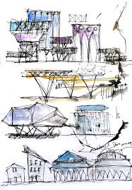 Image Building Architecture Concept Sketch And Design Architecture Dana Simple Sketches Architecture Design Concepts No34