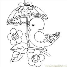 Small Picture 64 Chick With Fancy Umbrella Coloring Page Free Chick Coloring