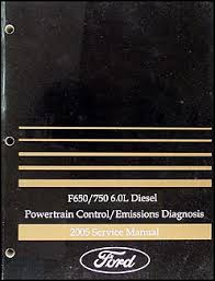 2005 ford f650 f750 medium truck wiring diagram manual original 2005 ford f650 f750 6 0l diesel engine emissions diagnosis manual