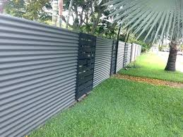 corrugated metal fence for diy panel all home decor how to install