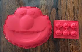 Amazoncom Sesame Street Elmo Silicone Cake Mold Chocolate Mini