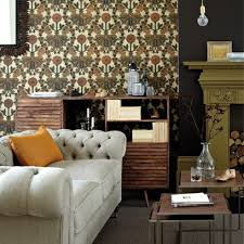 the best wallpapers to now be brave with these bold colour living room ideas