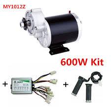 my1020z 600w motor controller twist throttle diy electric bicycle kit