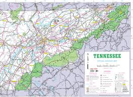 map of upper east tennessee