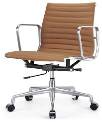 lovely office chairs brown leather with ribbed back office chair leather contemporary office chairs