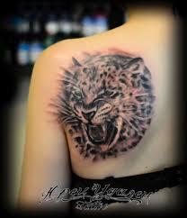 тату леопард на спине значение фото эскизы