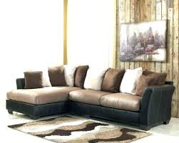 ashley brown corduroy sectional sofa microfiber furniture sofas iber s couch sec