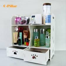 white makeup organizer with drawers wooden makeup organizer with drawers storage drawers amusing design